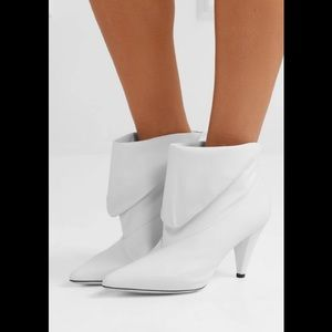 Givenchy Fold Over Leather Booties